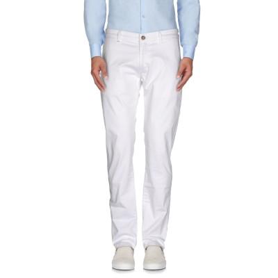 リハッシュ RE-HASH パンツ ホワイト 36 コットン 98% / ポリウレタン 2% パンツ