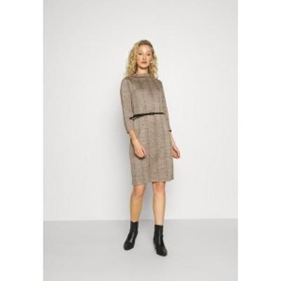 エスプリ レディース ワンピース トップス Shift dress - light brown light brown