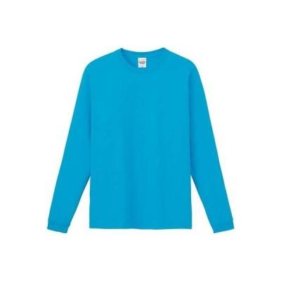 (プリントスター)Printstar 6.6オンス ハイグレード長袖Tシャツ 00159-HGL 034 ターコイズ 98 XS