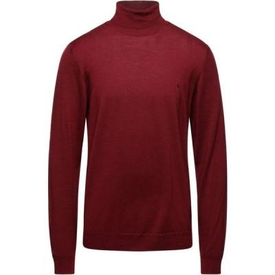ブルックスフィールド BROOKSFIELD メンズ ニット・セーター トップス turtleneck Brick red