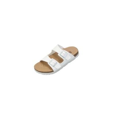 pure walker COMFORT plus ピュアウォーカー コンフォート サンダル PW7901 ダブルベルト スリッパ 天然コルク レディース メンズ 靴 全2色 お取り寄せ商品