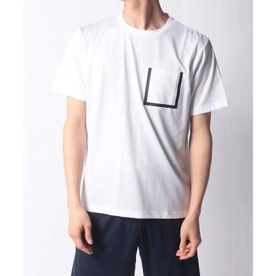 ATHFORM(アスフォーム) EPIX 圧着ポケット Tシャツ M WHT メンズ AF-S21-010-038