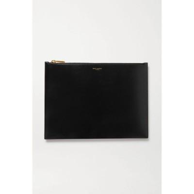 イヴ サンローラン SAINT LAURENT レディース ポーチ large leather pouch