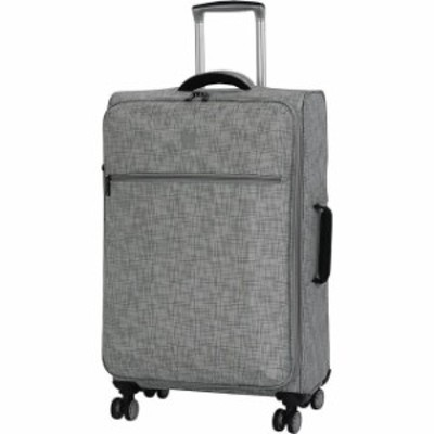 it luggage  旅行用品 キャリーバッグ it luggage Stitched Squares 26.8&#034 Expandable Softside Checked NEW