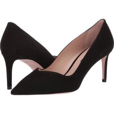 スチュアート ワイツマン Stuart Weitzman レディース パンプス シューズ・靴 Anny 70mm Pointy Toe Pump Black Suede