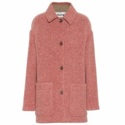 アクネ ストゥディオズ Acne Studios レディース ジャケット アウター Wool-blend jacket Multi Pink