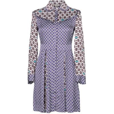 MAJE ミニワンピース&ドレス パープル 1 レーヨン 100% ミニワンピース&ドレス
