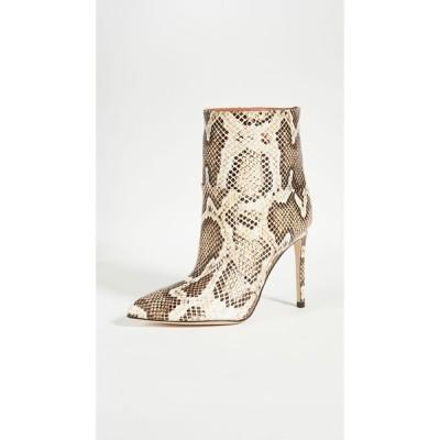 パリ テキサス Paris Texas レディース ブーツ ショートブーツ シューズ・靴 Python Print Seamed Ankle Boot Stilettos Seppia