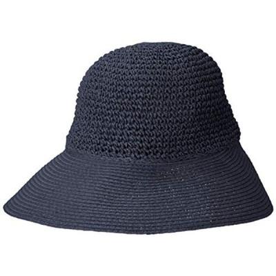 [センス オブ グレース] ポケッタブル日よけハット SABRINA HAT レディース ネイビー 日本 FREE (FREE サイズ)