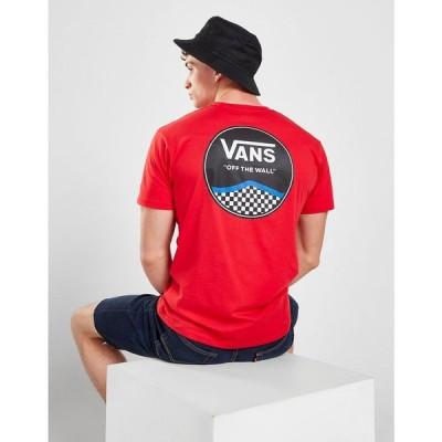 ヴァンズ Vans メンズ Tシャツ トップス Circle Logo T-Shirt red