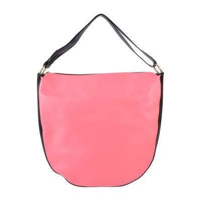 マルニ MARNI ハンドバッグ ピンク 95% 牛革 5% 真鍮/ブラス ハンドバッグ