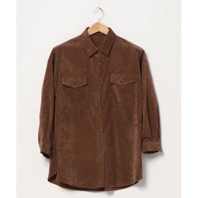 INGNI / ライスコールBIGシャツ WOMEN トップス > シャツ/ブラウス