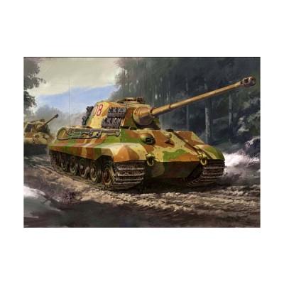 タミヤ 32536  1/48スケール   ドイツ重戦車 キングタイガー (ヘンシェル砲塔)プラモデル組立キット  061235