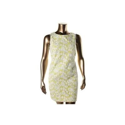 ドレス ワンピース Vince Camuto Vince Camuto 3637 レディース グリーン mesh Embroideレッド Wear to Work ドレス 10 BHFO