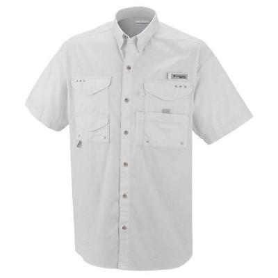 (取寄)コロンビア メンズ ボーンヘッド ショートスリーブ シャツ Columbia Men's Bonehead SS Shirt White 送料無料