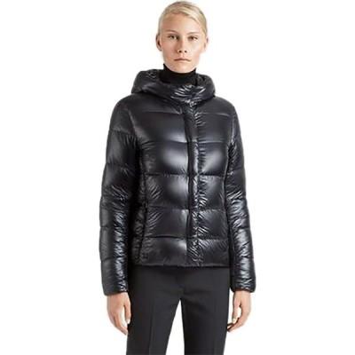 ウーバー UBR レディース ダウン・中綿ジャケット アウター Neon Down Jacket Black