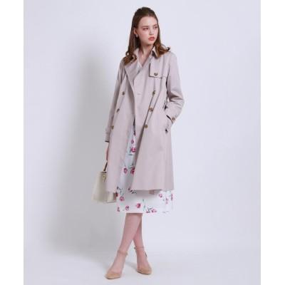 Couture Brooch(クチュールブローチ) 【WEB限定サイズ(LL)あり】ベルト付きトレンチコート