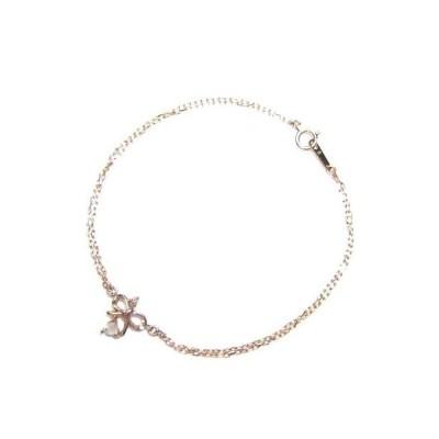 Brand Jewelry me.K10ピンクゴールド ダイヤモンド クォーツブレスレット リボン 安い【今だけ代引手数料無料】