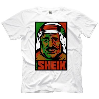 アイアン・シーク Tシャツ「THE IRON SHEIK Propaganda Tシャツ」アメリカ直輸入プロレスTシャツ《日本未発売》