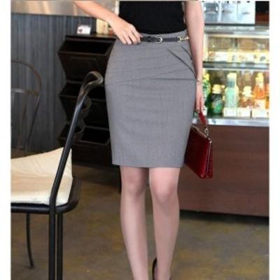 レディース スーツスカート仕事スリット通勤マイクロミニー細身ミニスカート CL サラリーマンビジネスオフィススカートOL 送料無料