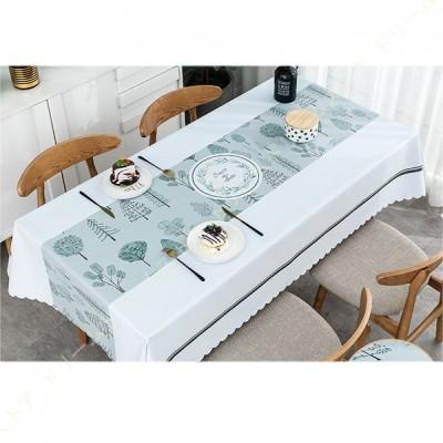 テーブルクロス ビニール PVC製 テーブルカバー 北欧風 防水 防油 耐熱 ダイビングテーブル キッチン 拭きやすい 防傷 汚れ防止 手入れ簡単 長方形