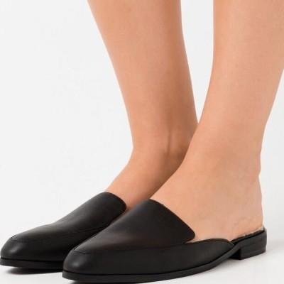 エヌエーケイディー レディース 靴 シューズ TEDDY BEDDED LOAFERS - Slippers - black