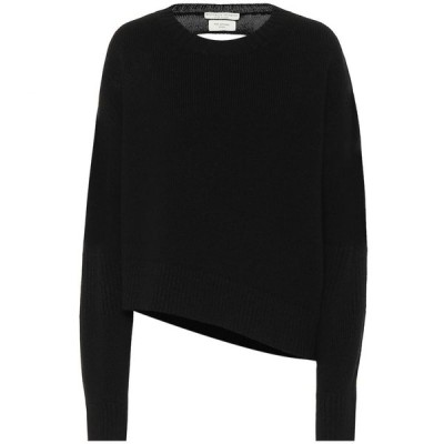 ボッテガ ヴェネタ Bottega Veneta レディース ニット・セーター トップス Asymmetric sweater Black