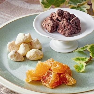 物産展 東北 スイーツ チョコ グルメ 青森 西目屋村産 りんご の ドライフルーツ 3種詰合せ