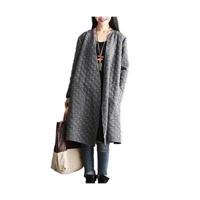 ニブンノイチスタイル  1 2style ジャケット コットン ノーカラー ブルゾン コート 防寒 レディース 女性 女 おん