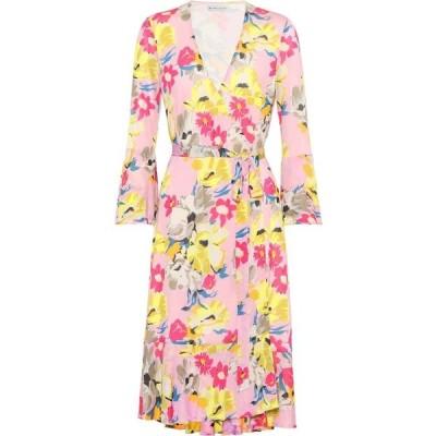 エトロ Etro レディース ワンピース ラップドレス ワンピース・ドレス floral-printed wrap dress Pink