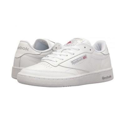 Reebok Lifestyle リーボック メンズ 男性用 シューズ 靴 スニーカー 運動靴 Club C 85 - Int/White/Sheer Grey