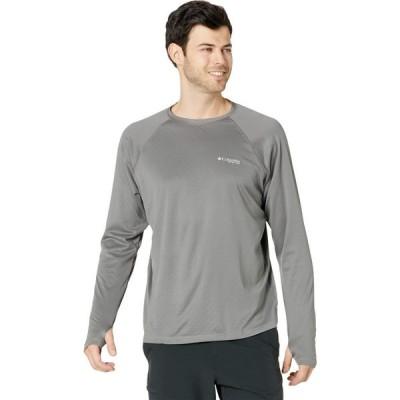 コロンビア Columbia メンズ 長袖Tシャツ トップス PFG ZERO Rules(TM) Ice Long Sleeve Shirt City Grey