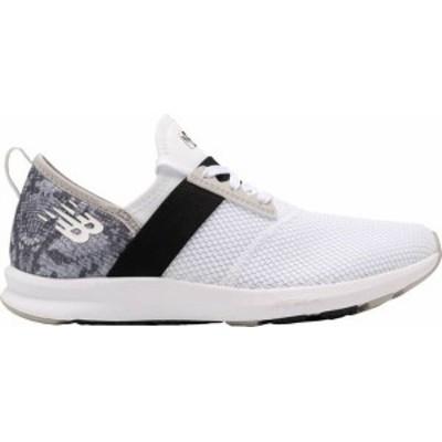 ニューバランス レディース スニーカー シューズ New Balance Women's Fuel Core NERGIZE Shoes White/Snake Print