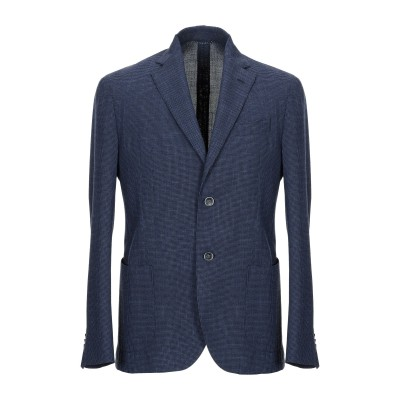 UNGARO テーラードジャケット ブルー 48 ポリエステル 73% / レーヨン 27% テーラードジャケット