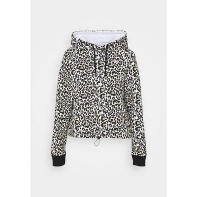フィラ レディース ファッション ELAXI CROPPED HOODY - Hoodie - white