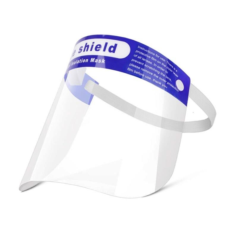 疫情面罩 防護面罩 護眼 防飛沫防護罩 透明面罩 防護眼鏡 護目鏡 pet防護面罩 透明罩防霧
