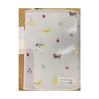 gelato pique ジェラートピケ シロクマフルーツ母子手帳ケース BLU ブルー 紙