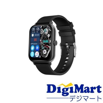 SMART R NY-17 スマートウォッチ Bluetooth通話機能付き 表面温度測定機能・血中酸素測定機能 [ブラック]【新品・国内正規品】