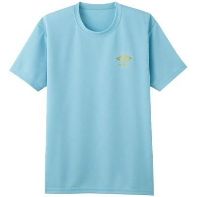 アンブロ Tシャツ DRY メッシュ クルーネック UBS713A メンズ アクアグリーン 日本 LL (日本サイズ2L相当)