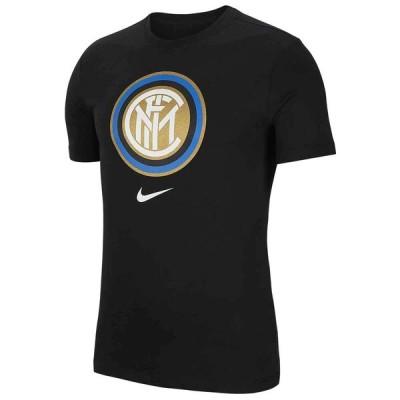 インテル・ミラノ Tシャツ tシャツ ナイキ Nike 2019/20 ブラック メンズ 半袖 セリエA インテル