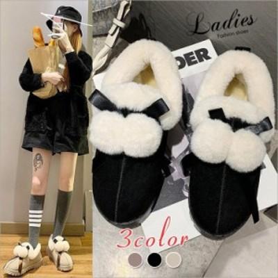 ムートンブーツ スノーブーツ レディース ブーツ ショートブーツ 雪用ブーツ 裏起毛 防寒 防風 防水 防滑 保暖 冬用 靴 暖かい