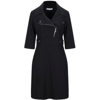 リナシメント RINASCIMENTO ミニワンピース&ドレス ブラック XL ポリエステル 90% / ポリウレタン 10% ミニワンピース&ドレス
