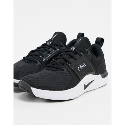 ナイキ レディース スニーカー シューズ Nike Training Renew sneakers in black Black