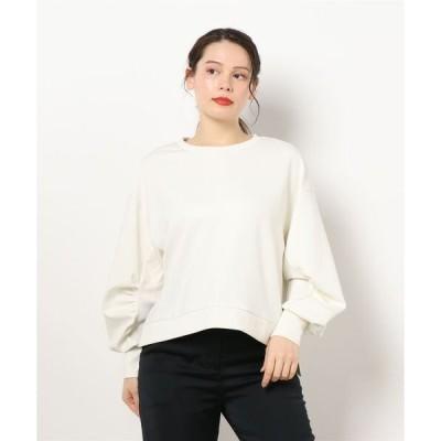 tシャツ Tシャツ 袖タックプルオーバー