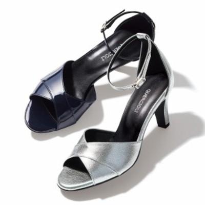 バッグ 靴 アクセサリー パンプス サンダル アンクルストラップ ヒールサンダル 236505