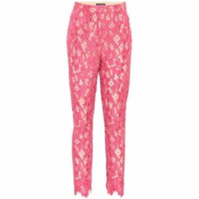 ドルチェandガッバーナ Dolce and Gabbana レディース ボトムス・パンツ Floral lace pants Rose Pink