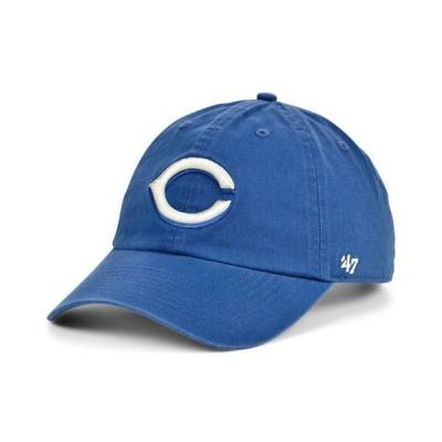 47ブランド レディース 帽子 アクセサリー Cincinnati Reds Timber Blue CLEAN UP Cap