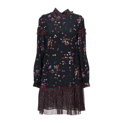 ブルーガール ブルマリン BLUGIRL BLUMARINE ミニワンピース&ドレス ダークブルー 44 レーヨン 100% ミニワンピース&ドレス