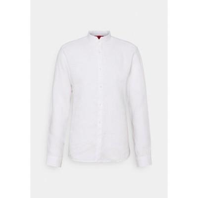 フューゴ シャツ メンズ トップス ELVORINI - Shirt - open white