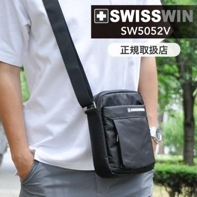 SWISSWIN ショルダーバッグ メンズ 斜めがけ 軽量  ビジネスバッグ 出張 メンズバッグ メッセンジャーバッグ 通勤 鞄 防水